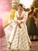 Sabyasachi Off-White Embroidered Heavy Silk Wedding Lehenga Choli