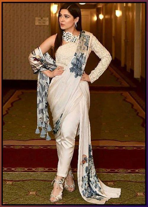 Gown saree
