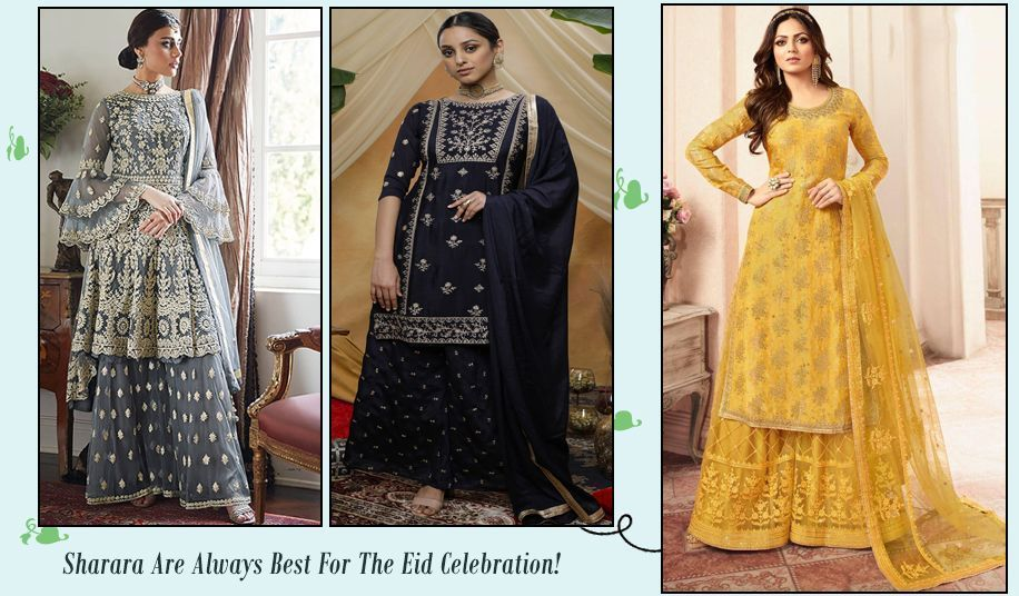 Sharara suit for Eid