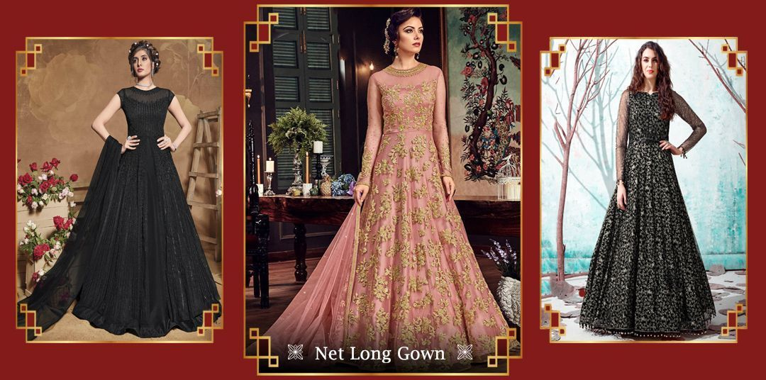 net long gown