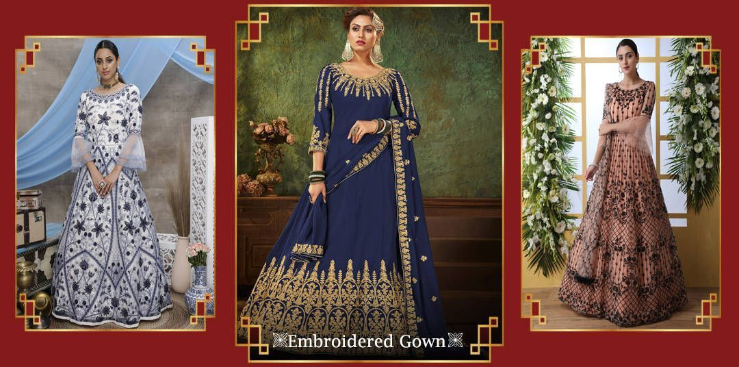 Anarakali Gown