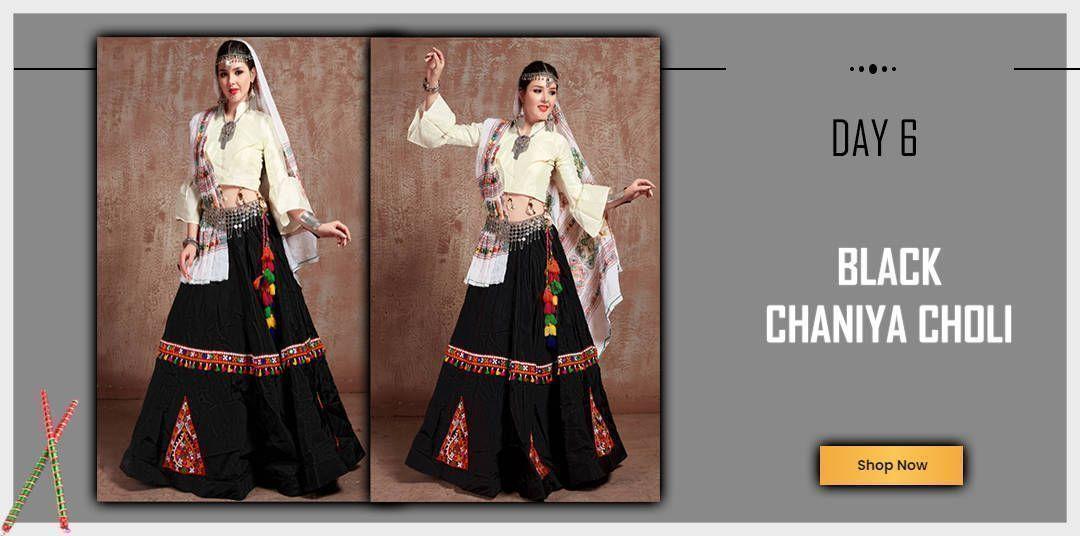 Black Chaniya Choli