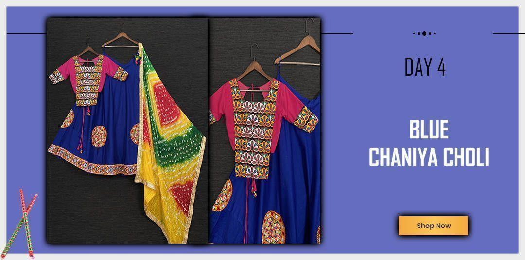 Blue chaniya Choli