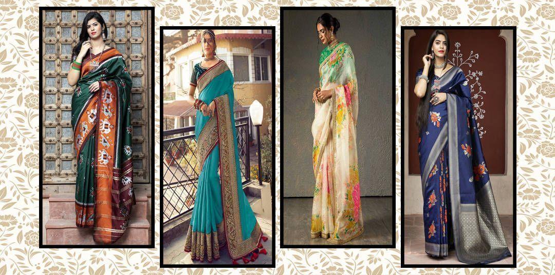 trending saree
