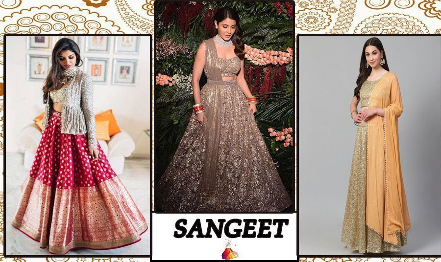 bollywood inspired sangeet dress