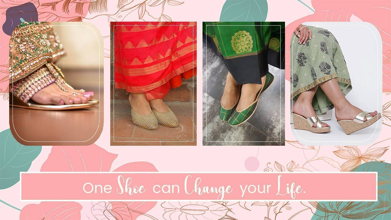 Best Foot wear With saree