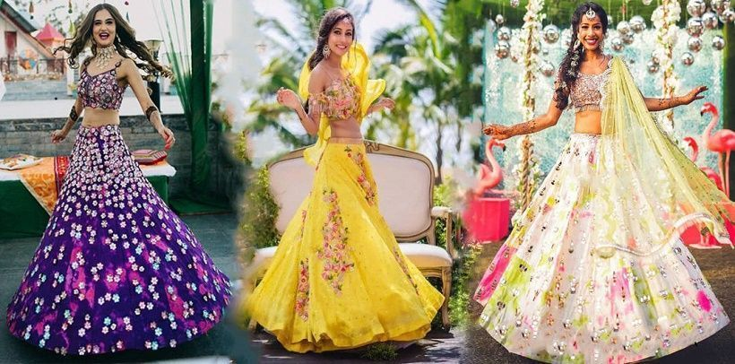 8 Best Floral Lehenga Design for This Summer Wedding !
